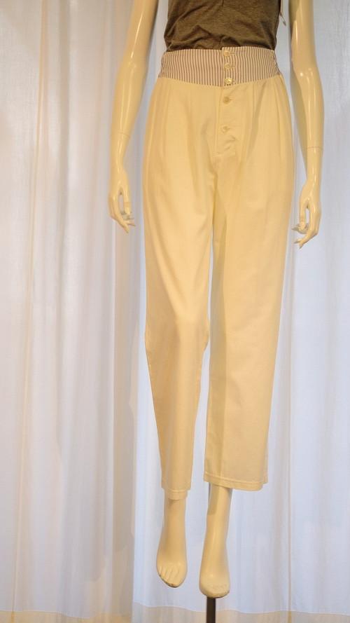 Cotte パンツ ホワイト