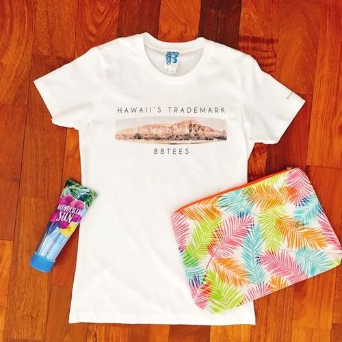 【88tees 】グラフィックTシャツ(ダイアモンドヘッド)/レディース