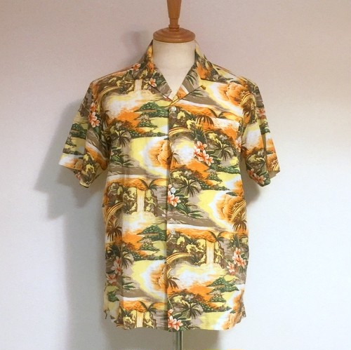HAWAIIAN SHIRT RAINBOW Yellow
