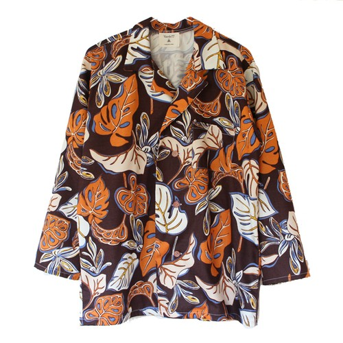 DEAD FABRIC LEAF ALOHA SHIRTS(Varde77)