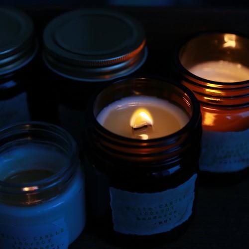 mori森の香り(L)soywax100%の木芯キャンドル【ソイワックスキャンドル ソイキャンドル アロマキャンドル】