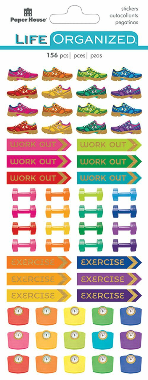 Fitness Functional Stickers  /PH