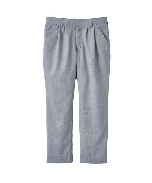 2TUCK TAPERED TROUSERS(JUHA)