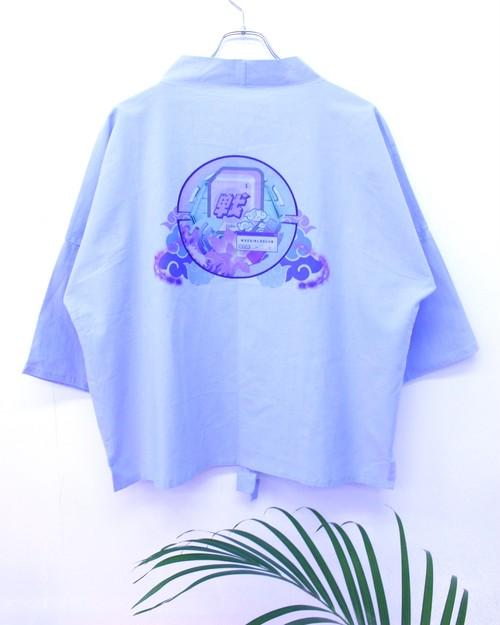 【WeeGirlsClub】ZHAN LinHua Printed Kimono