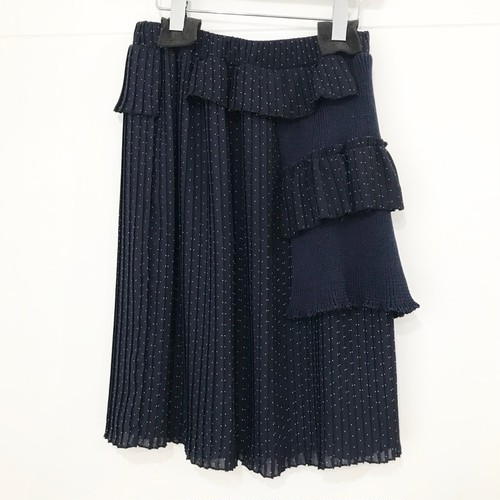 Yeti PANEL PLEATED SKIRT