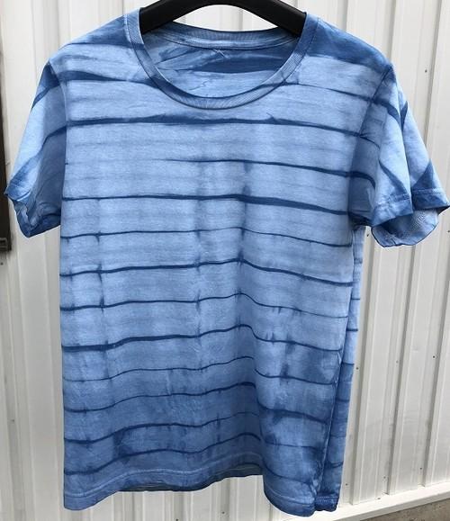 あまべ藍 半袖Tシャツ Sサイズ