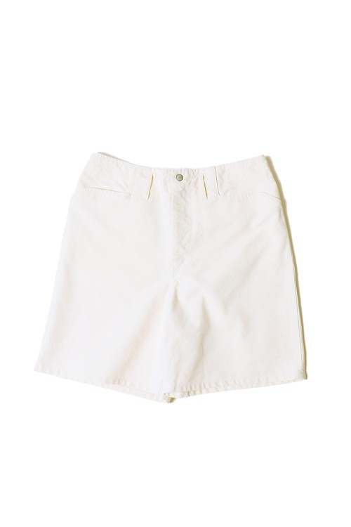 13.5oz Canvas Frisco Shorts / one wash / natural