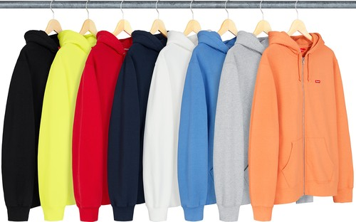 Supreme Small Box Logo Hoodie Zip Up