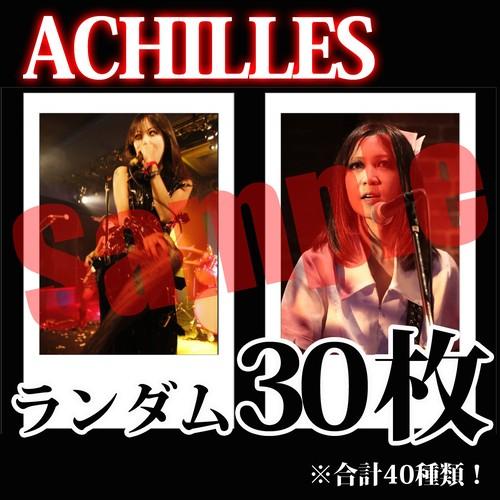 【チェキ・ランダム30枚】ACHILLES