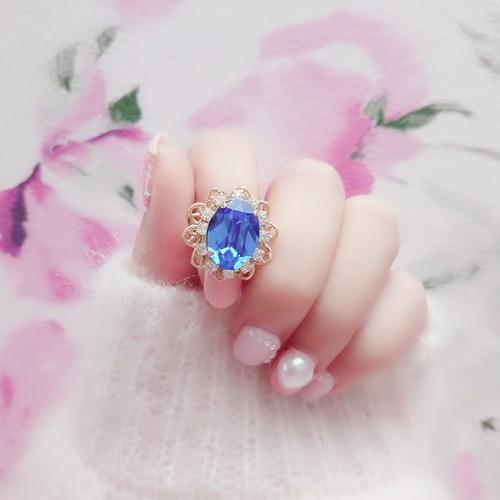 Serenity ring (マジェスティックブルー)