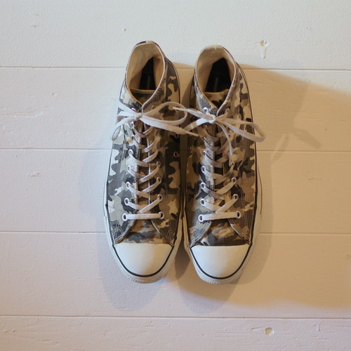 "CONVERSE 1990's ALL STAR ""Made in USA"" Size13 camouflage"
