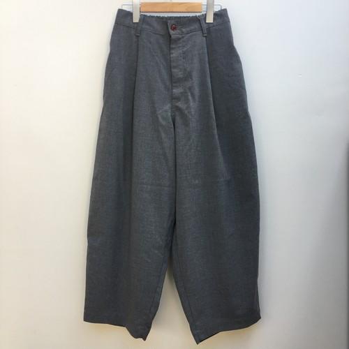 HARVESTY ハーベスティ / WIDE EGG LONG PANTS