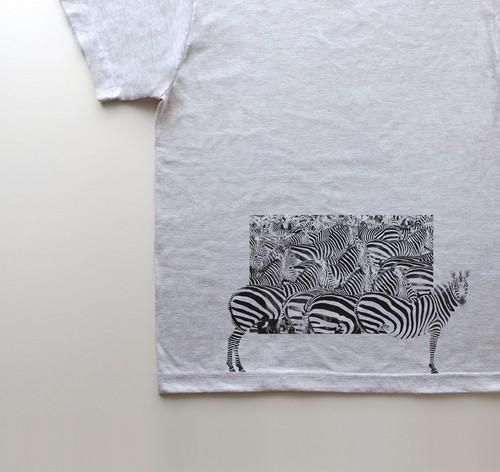 はみだシマウマん!【5.6oz T-shirt】