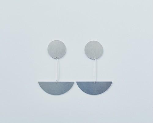 ame no shizuku (toi  ●+◗) / pierce or earring ※pair