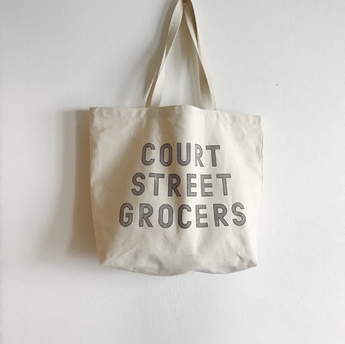 COURT STREET GROCERS トートバッグ