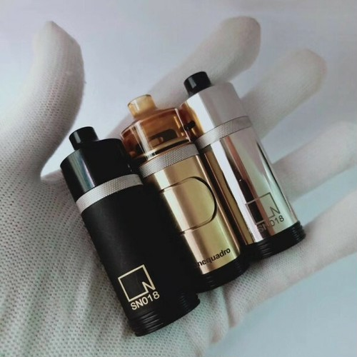 Imo 350 Kit by Ennequadro mods【CLONE】【送料無料】【カラー各種】【2MM】【1 x 18350】【side switch tube mod】【Hydro RDA】