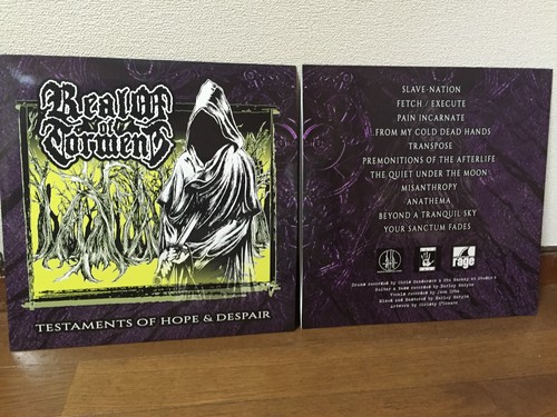 Realm of Torment - Testament's Of Hope & Despair 12""
