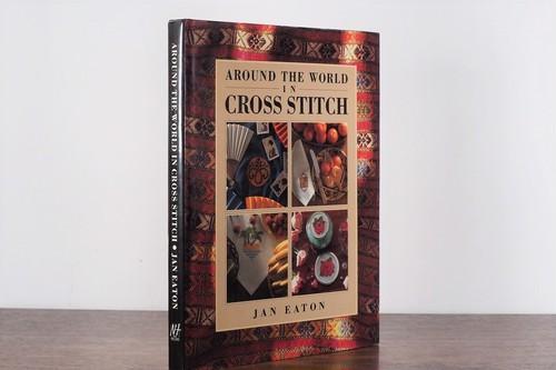 【VI184】Around the World in Cross Stitch  /visual book