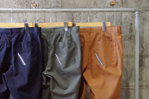LiSS sustainable tuck pants