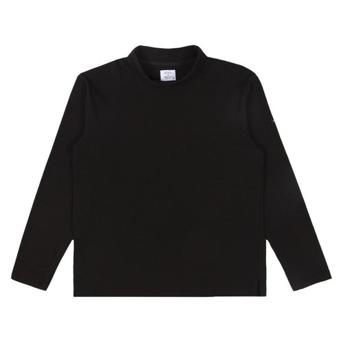 Turtleneck Rugby Top(Black)