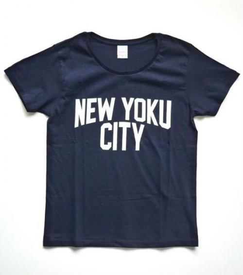NEW YOKU CITY Tシャツ(NAVY×WHT)