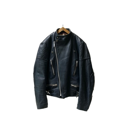 """70's """"WOLF LEATHERS"""" MONZA STYLE LEATHER JKT"""