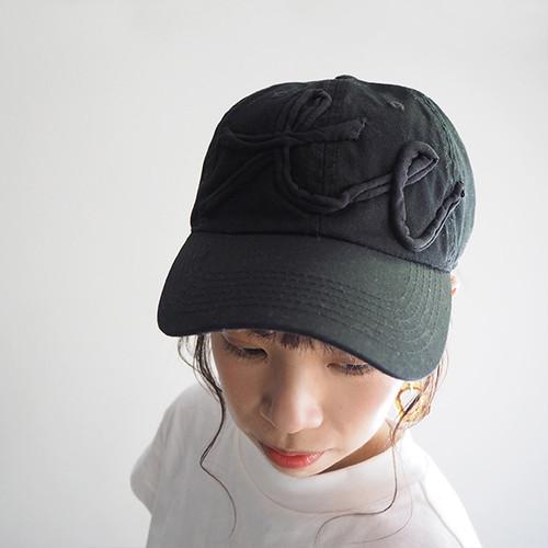 キャップBlack/Black