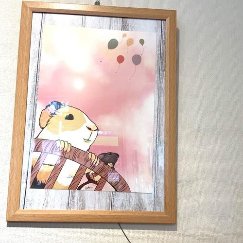 オンデマンドアートプリント【空を見上げる】