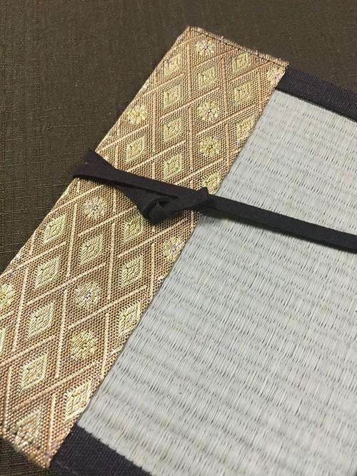 畳ブックカバー(紋柄)