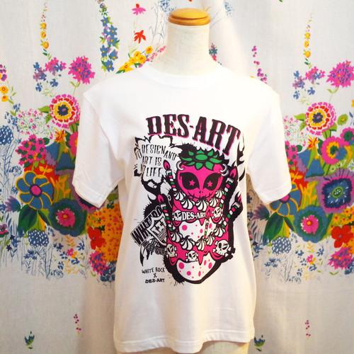 des-art×WHITE ROCK WネームのTシャツ【オリジナル】