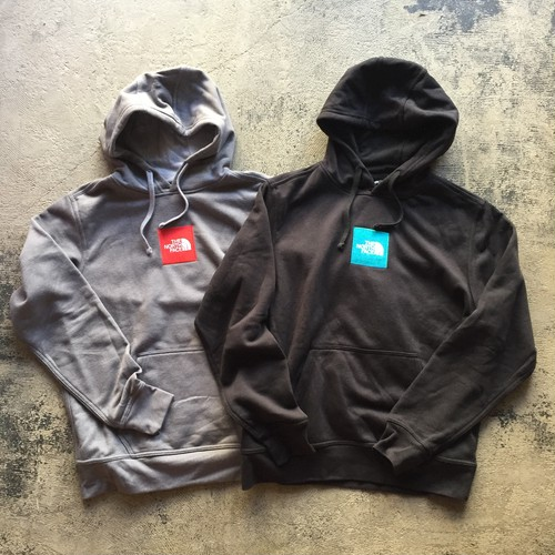 US企画 The North Face Box Logo Hooded Sweatshirt