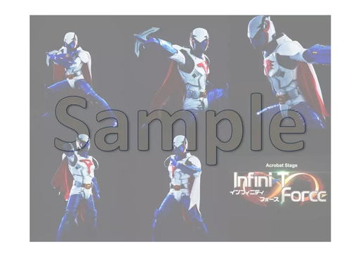 Acrobat Stage「Infini-T Force」個人ブロマイド5枚組