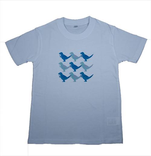 恐竜プリント子供用Tシャツ(ティラノサウルス)KT-T