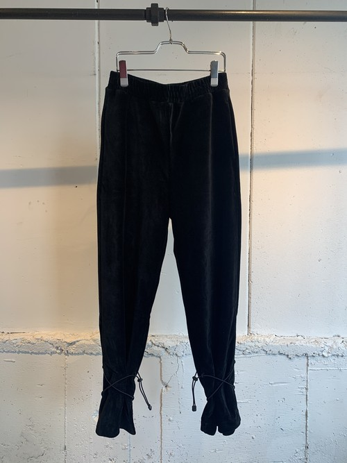 GVGV   CORDUROY JERSEY TROUSERS