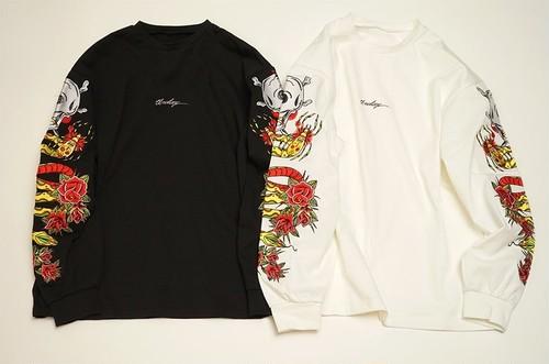 [予約商品]EFFECTEN / エフェクテン embroidery L/S