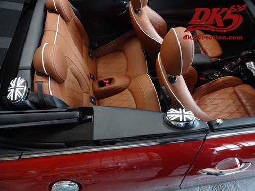BMW MINI F57コンバーチブル専用 ユニオンジャックステッカー