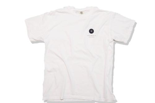 【vintage wappen T-shirt】/ white