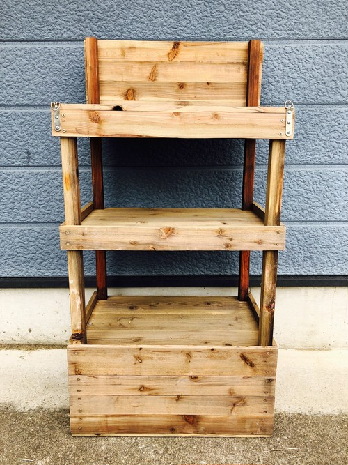 品番3588 ディスプレイ キャビネット 木製 陳列 棚 アンティーク
