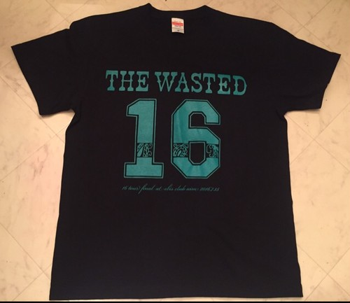 """【THE WASTED】THE WASTED""""16 Tour FINAL OneMan"""" T-Shirt"""