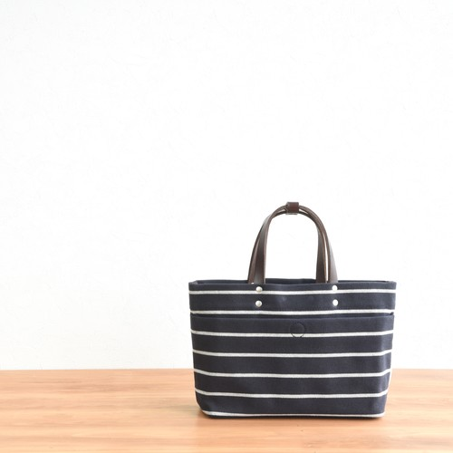 BORDER MAGAZINE TOTE SS / DARK NAVY