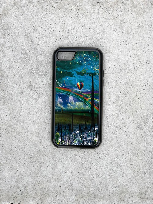 『blessing of the garden』 ハイブリットiPhoneケース  「完全オーダー商品」