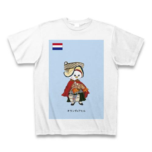 民族衣装Tシャツ  オランダxアヒル