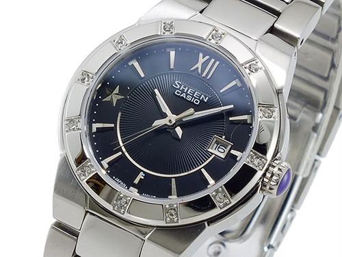 カシオ CASIO シーン SHEEN クオーツ レディース 腕時計 SHE-4500D-1A ブラック