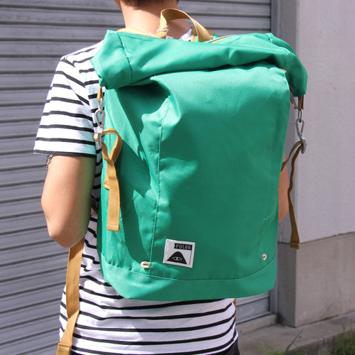 【最終セール40%OFF】POLeR Rolltop Pack / Bright Green