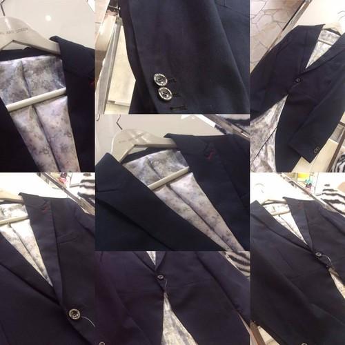 Navy Morning Jacket 紺色 モーニング ジャケット KQCWO0310