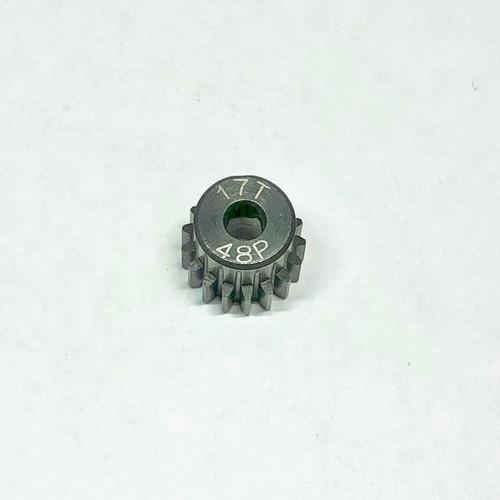 LAB-4817 ドリフトスチールピニオンギヤ 48P 17T