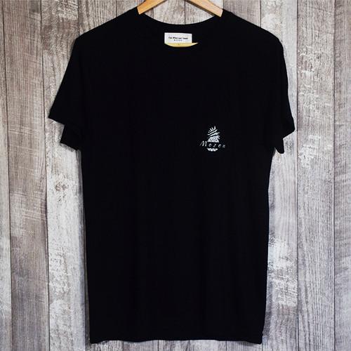 MOZENポケット付きT-shirt (NAVY)