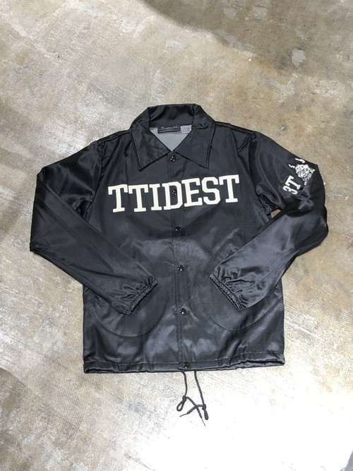 Three Tides Tattoo x Ebbets field Coach Jacket