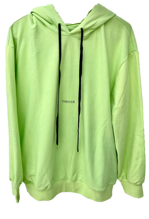 THIRIVER Hoody Silverstopper Neonlime