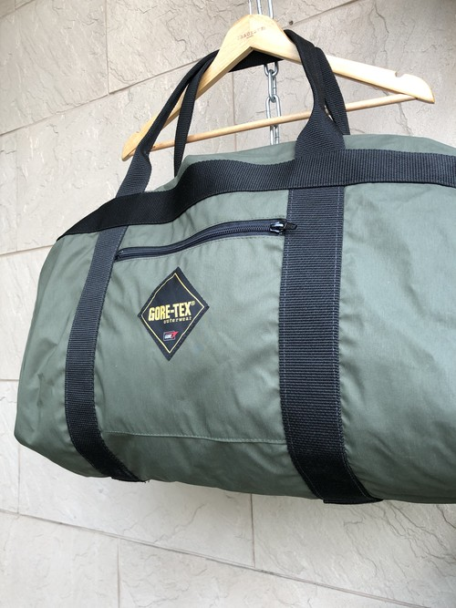 "Deadstock ""GORE-TEX"" olive duffel bag"